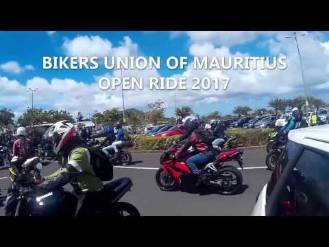 Bikers Union of Mauritius Open Ride 2017