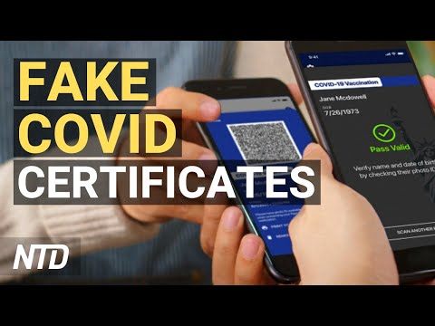 Fake COVID Certificates Vex Institutions; Coinbase Valued at $100B in Nasdaq Debut   NTD Business