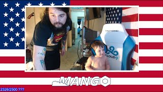 Mango's Baby Takes Over The Stream