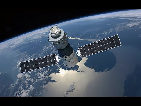 TRACKING TIANGONG-1 SPACE STATION RE-ENTRY LIVE