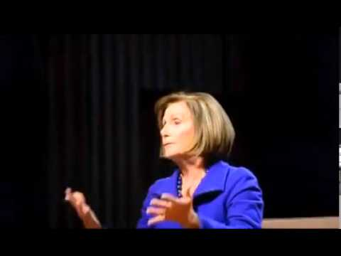 Speaker Nancy Pelosi Talks Child Care At Tufts