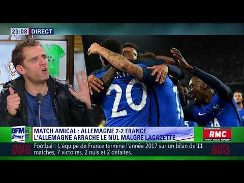 After Foot du mardi 14/11 – Partie 2/4 - Débrief d'Allemagne/France (2-2)