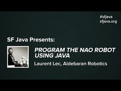 Program the NAO Robot Using Java