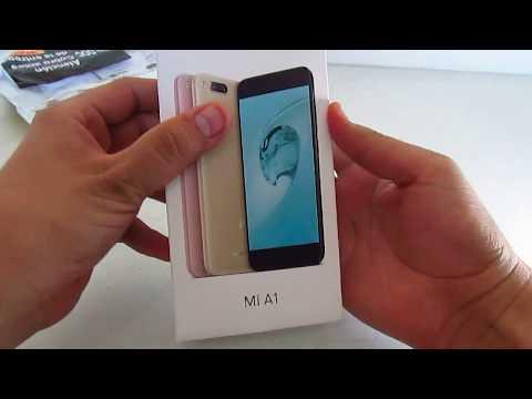 Unboxing en Español Xiaomi mi A1 de Gearbest