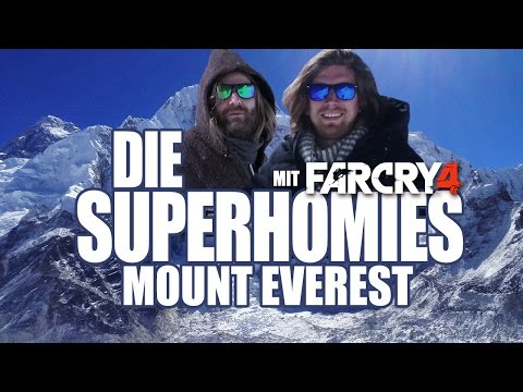 Die Superhomies in Nepal - Mount Everest (mit Gronkh & Sarazar für Far Cry 4)
