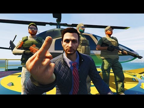 Butt Stuff Mafia | VIP Protection!! (GTA 5 VIP) GTA V Online
