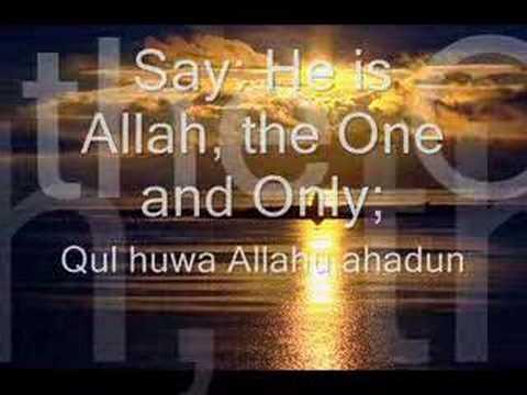 Surah Al Ikhlas..jadikan amalan seharian