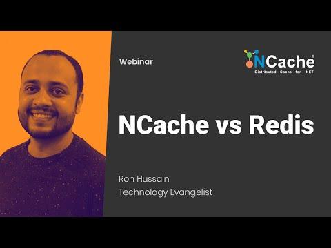 Webinar - NCache vs Redis