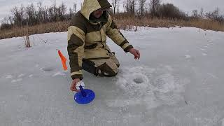 Зимняя рыбалка в Саратовской области