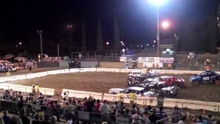 Destruction Derby 2012 Stanislaus County Fair Turlock CA **Final Heat**