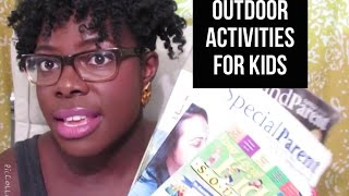Finding Outdoor Activities For Kids- Jenellbstewart