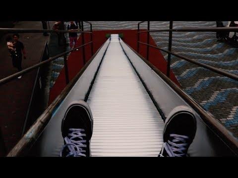found AMAZING slide near TOKYO SKYTREE! // Japan Vlog #2