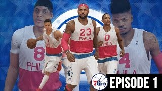 NBA 2K14 PS4 My GM Ep.1 - Philadelphia 76ers - Offseason Key Moves + 2014 NBA Draft!