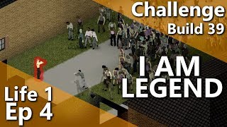 Project Zomboid Night Sprinters | I AM LEGEND Challenge | Vehicles Build 39 | Life 1 Episode 4