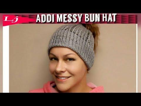 Addi Express Messy Bun Hat (Drawstring)
