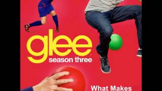 Glee - What Makes You Beautiful (Lyrics)
