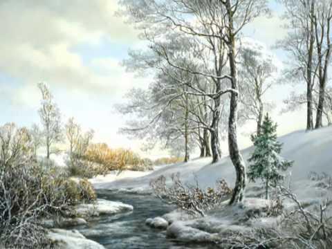 Зимние пейзажи известных художников