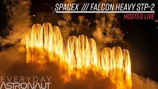 Watch SpaceX Push their Falcon Heavy further than ever!