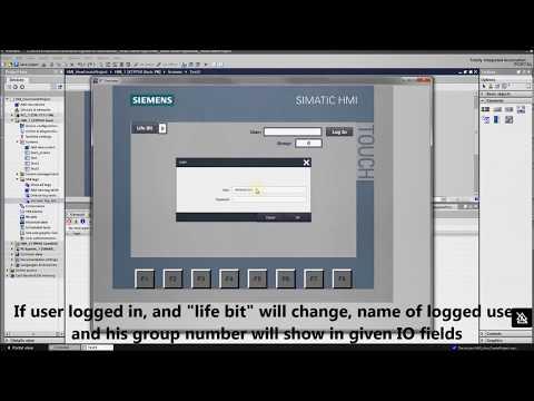 HMI programming tutorial TIA Portal - 6. User administration : (User information) (Part 2/5) thumbnail