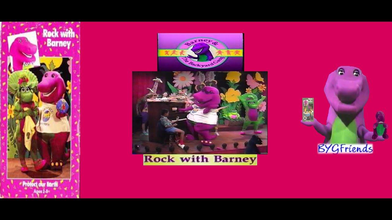 Barney & The Backyard Gang Episode 8: Rock with Barney ...