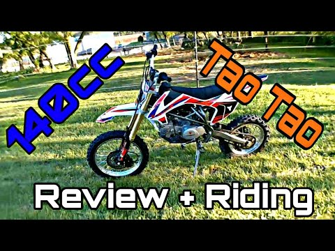 *NEW* Tao Tao DBX1 140cc Pit Bike Review and Riding |Go Pro Footage|