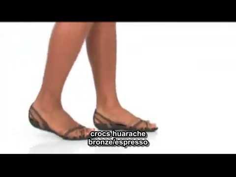 35c3e14a6c981 crocs huarache flat - YouTube