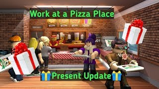 Roblox Work at a pizza place Present Update