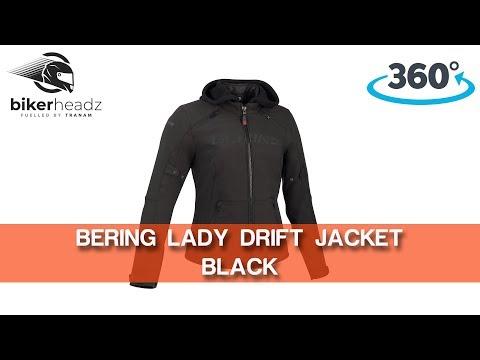 Bering Jaap Evo Waterproof Motorcycle Motorbike Textile Jacket Black Camo