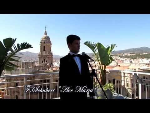 Cantantes para boda civil y ceremonia religiosa  Malaga, Marbella