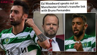 Bruno Fernandes's transfer to Manchester United, Ed Woodward reveals the TRUTH |  Man United News