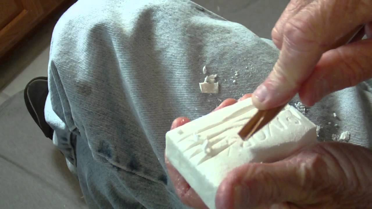 Eric's Handmade Soap Carving Tools - YouTube