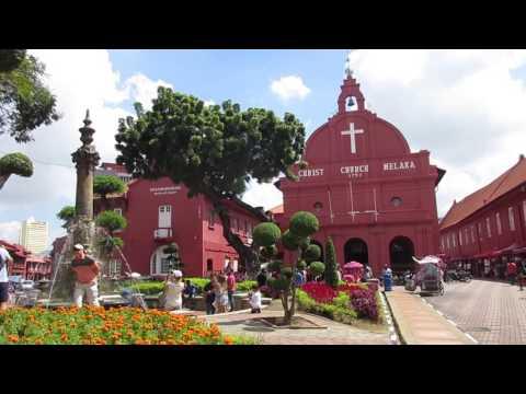 Malacca City - TRAVEL VIDEO.  Malacca. Malaysia