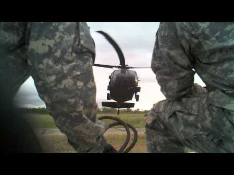 Air Assualt 1.5T Sand Bag Sling load Nebraska National Guard