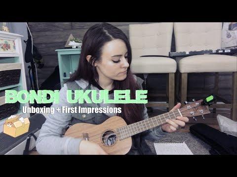 Bondi Ukulele Unboxing + First Impressions