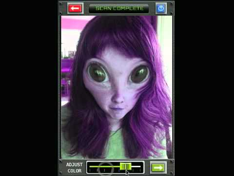 Alien booth app turn yourself into an alien youtube alien booth app turn yourself into an alien solutioingenieria Gallery