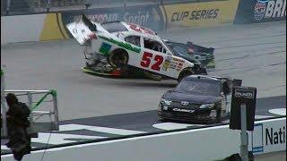 NASCAR Bristol Practice Crashes 1