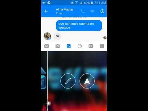 Como Enviar A Una Imagen A Un Contacto En Facebook Messenger En Mi Celular Bien Explicado Fácil