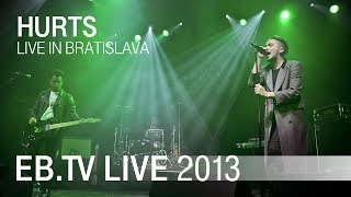 Hurts live in Bratislava (2013)