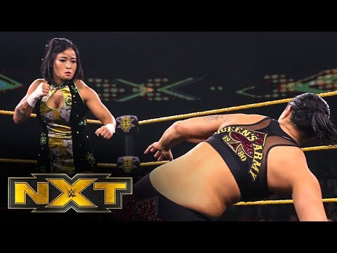 Xia Li Vs. Shayna Baszler: WWE NXT, Dec. 4, 2019