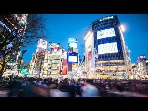 Photographing The Busiest Crossing In The World | Shibuyua, Japan Vlog
