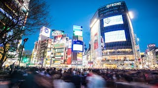 Photographing the Busiest Crossing in The World   Shibuyua, Japan Vlog