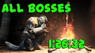 Dark Souls 2 - All bosses speedrun 1:26:32