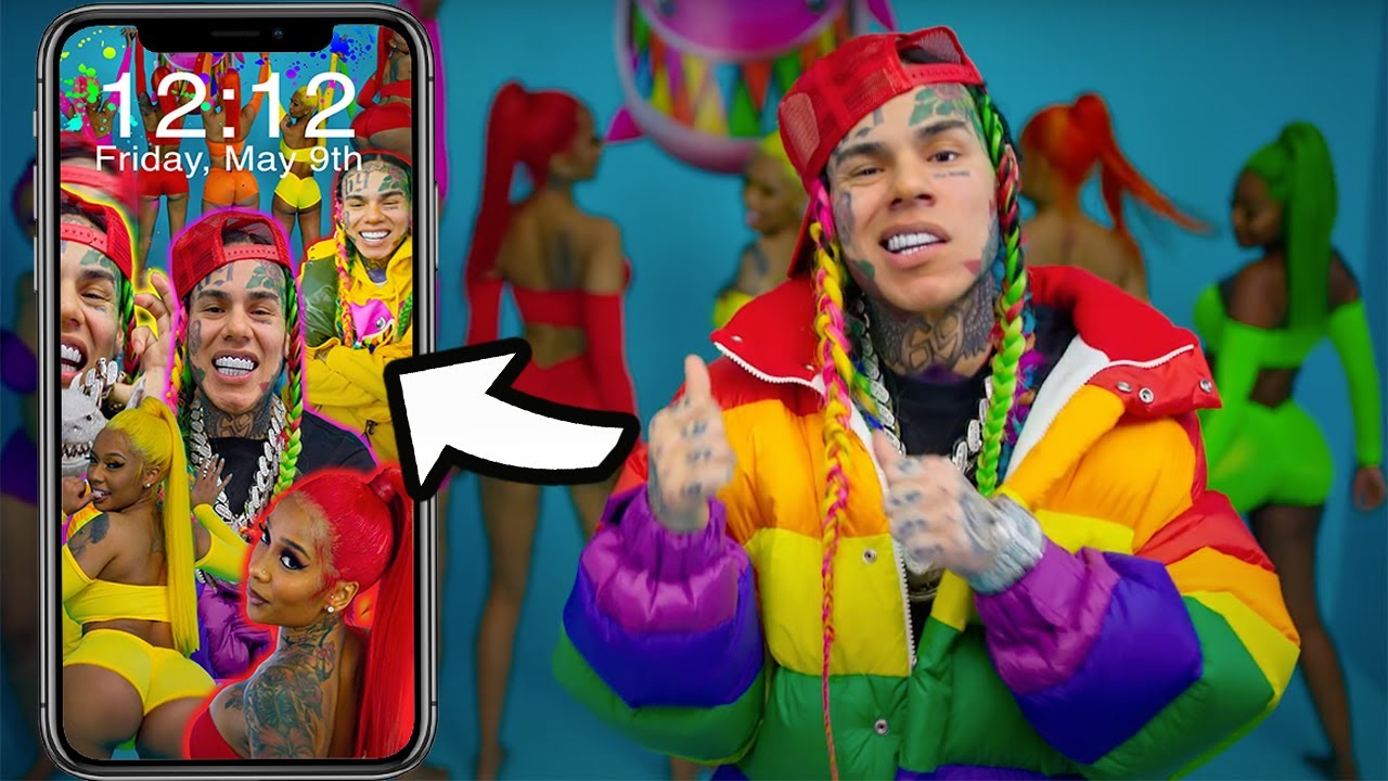 6ix9ine Gooba Iphone Wallpaper Youtube