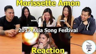 Morissette Amon - 2017 ASIA SONG FESTIVAL   Reaction - Aussie Asians