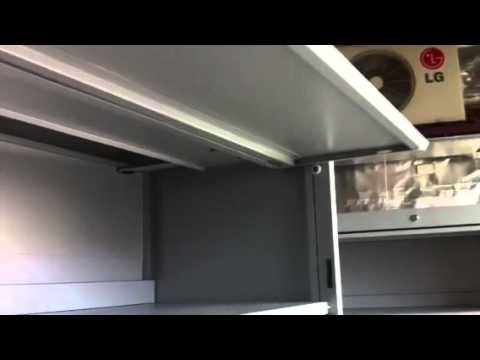 Flipper Door Cabinet & Flipper Door Cabinet - YouTube
