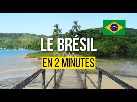 Visiter le Brésil en 2 minutes