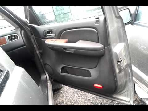 2008 Chevy Silverado LTZ Black Leather Interior