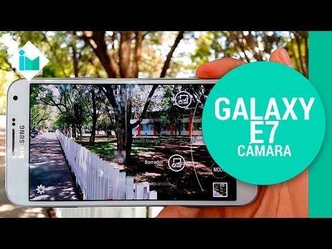 Samsung Galaxy E7 - Review de cámara