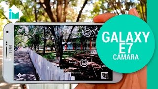 Samsung Galaxy E7 - Review de cámara