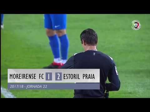 Resumo do Moreirense 1-2 Estoril (Liga 22ªJ)